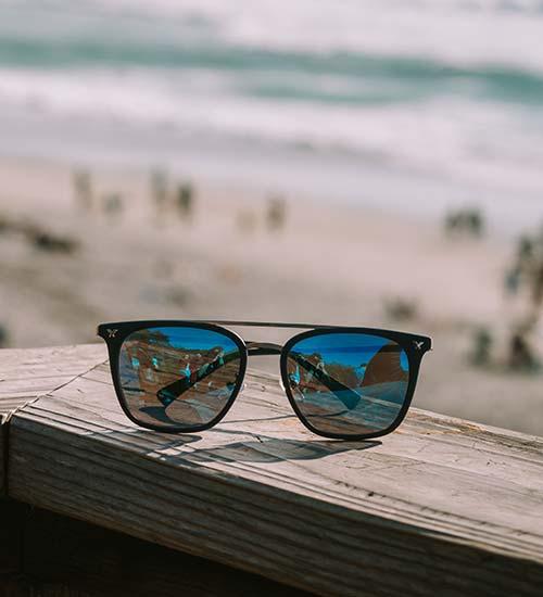 Solglasögon män hipsters polariserade solglasögon dag och